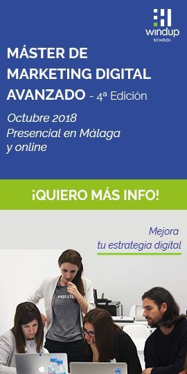 Master de Marketing Digital Avanzado de Windup School