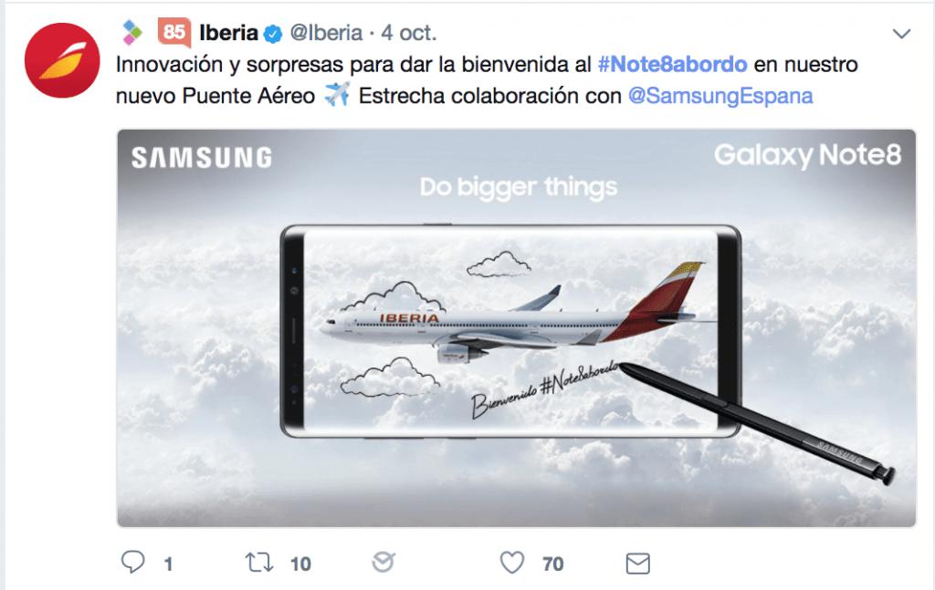 Tweet cobranding
