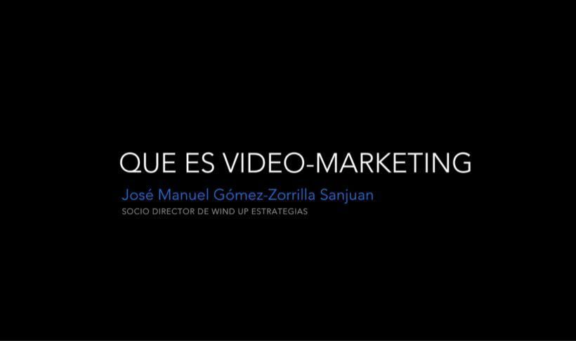 Definición del video marketing