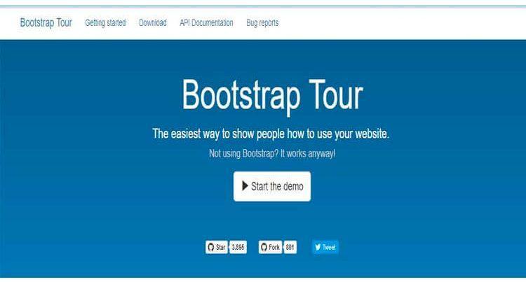 ejemplo usabilidad web Bootstrap